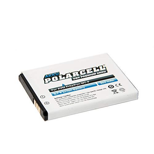 roxs Polarcell Akku für AVM FritzFon MT-F, M2, C4, C5, 312BAT006-800mAh