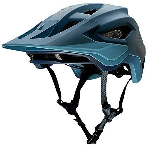Fox Racing Speedframe - Casco para bicicleta de montaña, azul claro, small