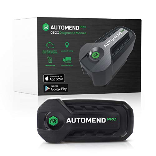 AUTOMEND PRO OBD2 Scanner Bluetooth - Code Reader Car Diagnostic Tool for iOS, Android | Universal OBD2 Scanner for Vehicles | OBDII Scanner & Vehicle Health Monitor | Check Engine Light Code Reader