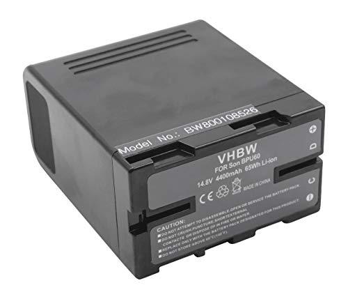vhbw Li-Ion batería 4400mAh (14.8V) para cámara de Video Sony PMW-200, PMW-EX1,...