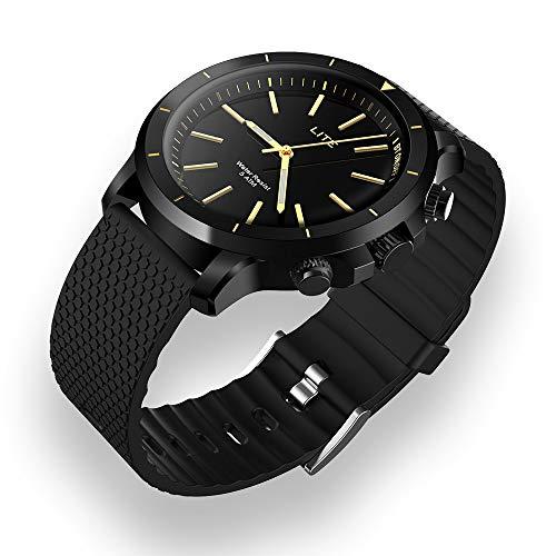 XXxx Smart horloge waterdicht en zweetbestendig positionering Smart time correctie Lichtgevende Pointer Functies Gesture fotografie Zoeken naar mobiele telefoon Sport