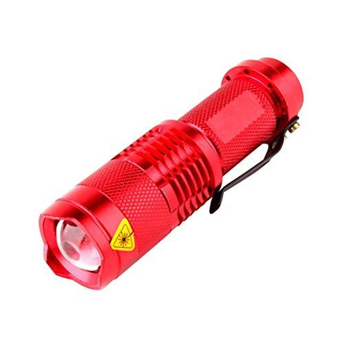 Savlot Mini zaklamp fiets koplamp waterdichte lamp instelbare focus oplaadbare zaklamp fiets koplamp outdoor fietsen accessoires