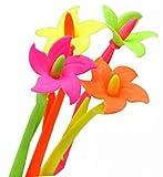 Ensemble de 12 gentil fleur fragrance Signature Pen (Couleur aléatoi)