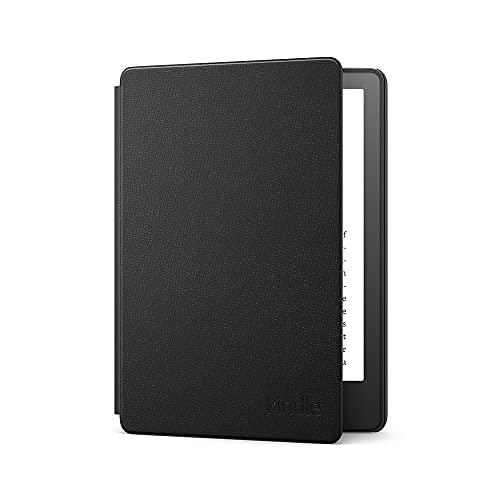 Amazon Kindle Paperwhite-Lederhülle   Geeignet für die 11. Generation (2021), Schwarz