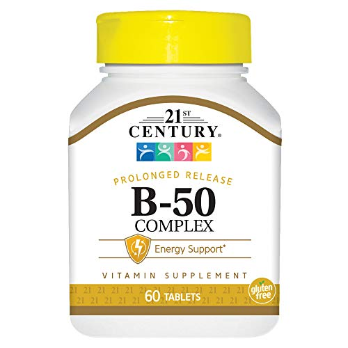 21st Century Vitamin B-50 Complex, 60 Tablets, 200 g