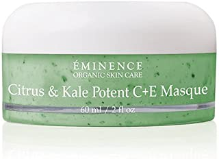 Eminence Organic Skincare Citrus & Kale Potent C + E Masque, 2.0 Ounce