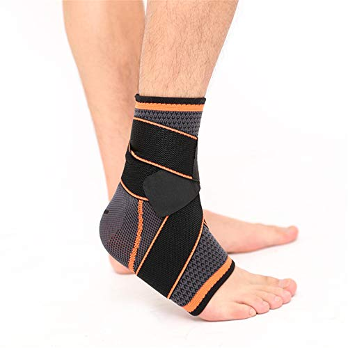 Ankle Brace Compression Support Adjustable Sleeve (2Pcs in a Pack) for Injury Recovery, Joint Pain and More, Arch Brace Support & Foot Stabilizer, Ankle Wrap Protect Against Ankle Sprains or Swelling