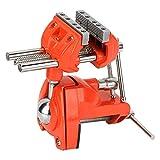 Abrazadera de mesa de tornillo de banco, tornillo de banco de abrazadera de tornillo de banco giratorio para carpinteros, soldadura, procesamiento de metales, herramienta de carpintería de bricolaje