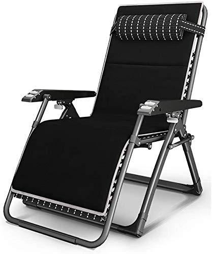 Mr.T Gravity Stuhl Folding Campingstuhl nach Hause tragbaren voll Klappsessel/Büroschlaf Liegestuhl/Strand im Freien Multifunktionsklappbett Strandliege Camping Sessel