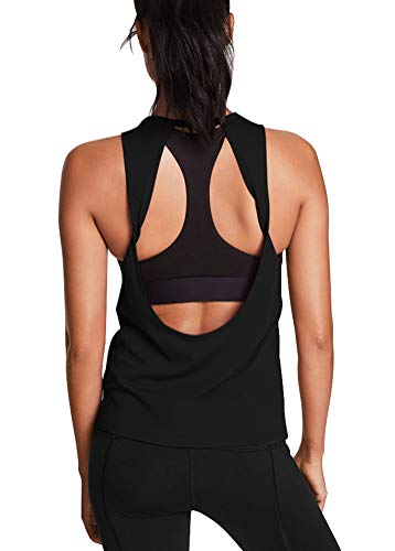 Mippo Open Back Yoga Tank Tops