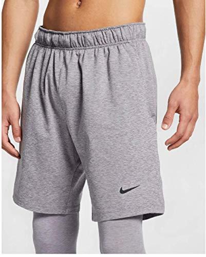Nike Herren M NK Dry Short HPRDRY LT Sport, Gunsmoke/Htr/(Black), M