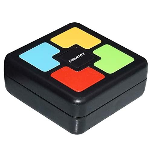 Juguete de entrenamiento de memoria para niños, consola creativa de juegos de memoria de rompecabezas, juguete interactivo de luz LED, juguete de punta del dedo, para entrenamiento de mano y cerebro