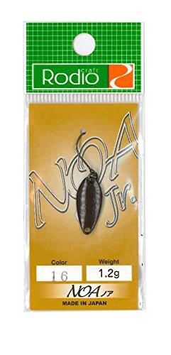 Rodiocraft(ロデオクラフト) NOA(ノア) Jr 1.2g #16 チョコレート スプーン ルアー