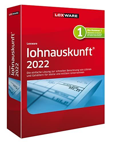 Lexware lohnauskunft 2022 Download Jahresversion (365-Tage)   Standard   PC Aktivierungscode per Email