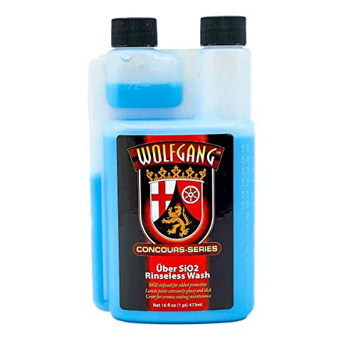 WOLFGANG CONCOURS SERIES WG-1650 Uber SiO2 Rinseless Wash, 16 fl. oz.