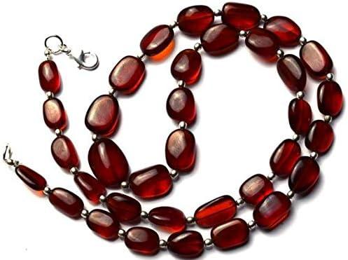GemAbyss Beads Gemstone 1 Strand Natural Rare Minneapolis Mall B Hessonite Garnet Gorgeous