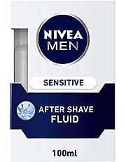NIVEA Men Sensitive After Shave Lotion Chamomile and Hamamelis, 100 ml