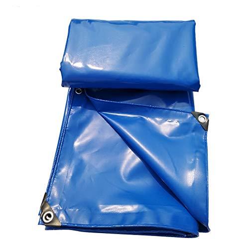 GY bâche imperméable Bâche 650 G/Mètre Carré Bleu Disponible en Plusieurs Tailles /+-+/ (Couleur : Bleu, Taille : 3 * 4m)