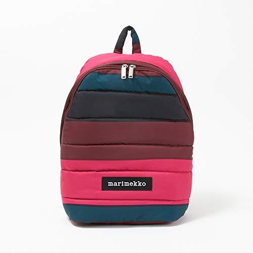 (マリメッコ) MARIMEKKO バックパック LOLLY 47954 369 Pink/Dark Green/Black 【TAIVAANKUKAT:タイヴァーンクカット】 [並行輸入品]