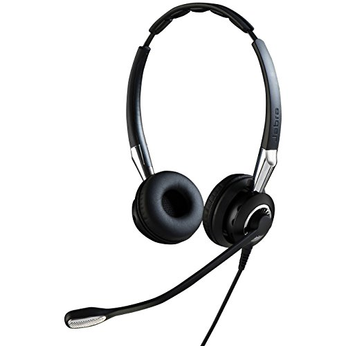 Jabra 2400 II QD Duo UNC Wired Headset - Black