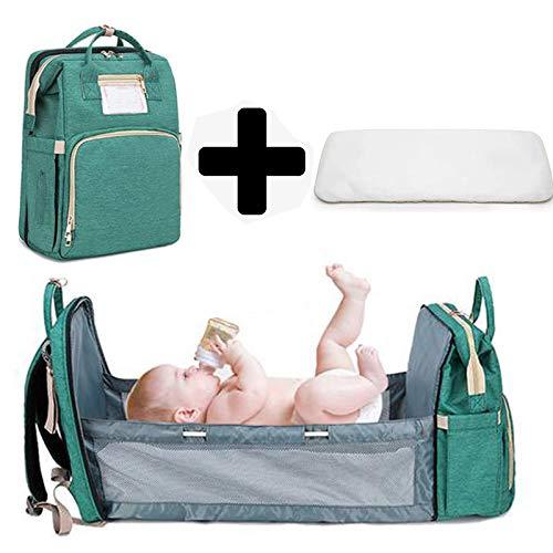 Multifunktionale Wickeltasche 3 In 1, Baby Bassinet, Travel Stubenwagen Betttasche Tragbare Faltbare Wickeltasche,Multifunktional Baby Tasche Faltbar Baby Stubenwagen Bettchen Mummy Travel Tasche