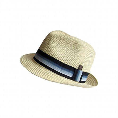 DASMARCA-Collection été-Chapeau de Paille tressé Craie-Monaco-L