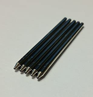 Black, Medium Tip Generic Refills for Livescribe Pulse, Echo or Sky. Smooth-writing, Premium German Ink. [並行輸入品]