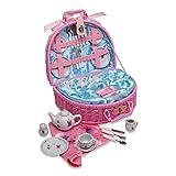 Lucy Locket - Cesta de pícnic de Juguete y Juego de té con «Hadas» de Color Rosa para ...