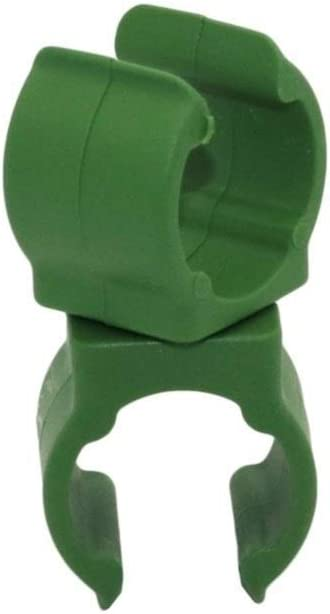 Plant Support Plastic Firmware Gardening Clip Adjustable 360 Degree Rotating Connector Clip Size : Inner Diameter 8mm