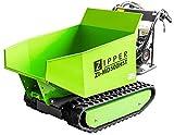 Zipper ZI-MD500HST - Miniraupendumper | Carriola motore | catena in gomma | 6800 Watt di potenza | pala da neve