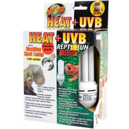 Zoo Med Heat UVB Reptisun Basking Spot Lamp (100 watts)