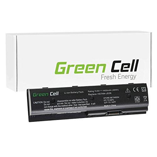 Green Cell® Standard Serie TPN-W106 Batteria per Portatile HP (6 Pile 4400mAh 10.8V Nero)