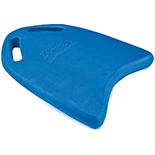 Zoggs Standard Training Kickboard Hand Cut-Outs for Secure Hold - Blue, Size 43.5 x 29.5 cm:Videomesum