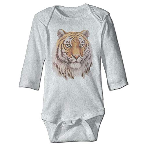Body de manga larga para bebé, unisex, para bebé, Bret Flight of The Conchords, Tiger FOC, traje de manga larga, traje de sol de color ceniza