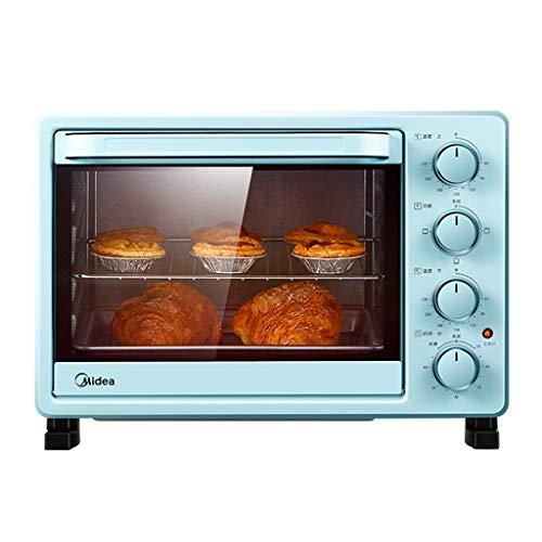 Fours grille-pain Mini Four, Four Multifonction Domestique, contrôle de température réglable et minuterie avec Plaque de Cuisson et Grill