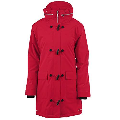 Blaest Regenmäntel Montreal Duffelcoat, rot-XL
