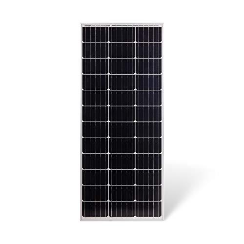 Protron Slim Mono 100W Solarmodul Photovoltaik Monokristallin Solarpanel Solarzelle 100Watt Mono Solar 12v 18v für Wohnmobil, Garten, Boot