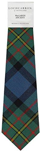 I Luv Ltd Gents Neck Tie MacLaren Ancient Tartan Lightweight Scottish Clan Tie
