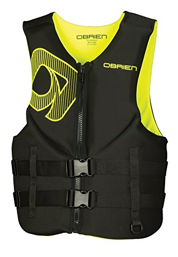 O'Brien Traditional Neo Life Men's Vest, Yellow, Small