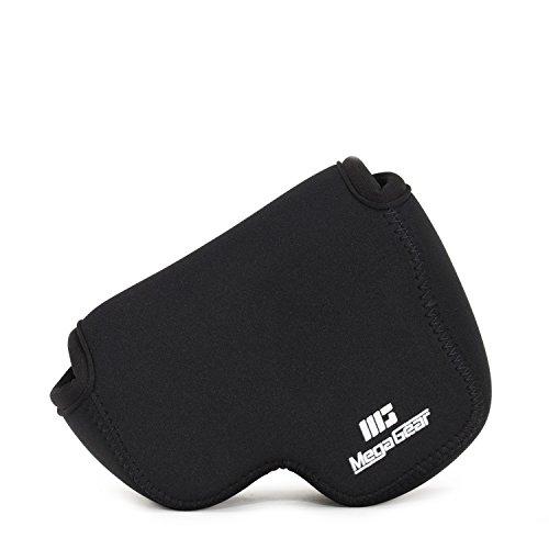 MegaGear Nikon Coolpix B500 Ultraleichte Kameratasche aus Neopren mit Karabiner Haken schwarz