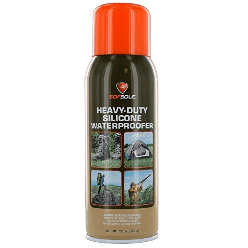 Sof Sole Silicone Waterproofer Spray for Boots, Tents and Outdoor Gear