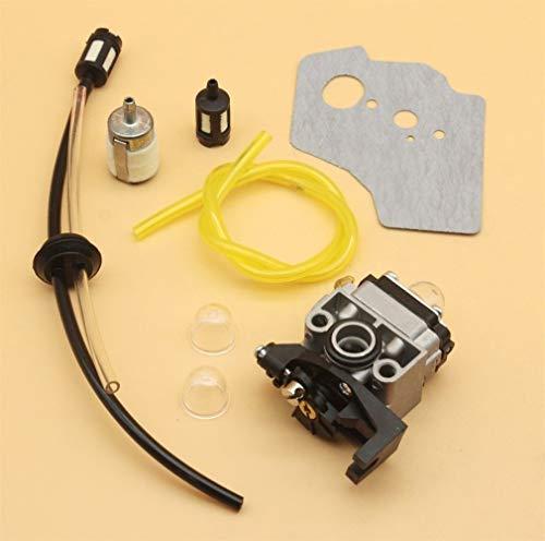 Tiempo Beixi Kit de Limpieza de carburador Junta línea de Combustible for Honda GX35 HHT35 HHT35S 4-Stroke Engine Mini pequeño Motor de la Recortadora Desbrozadora Segadora