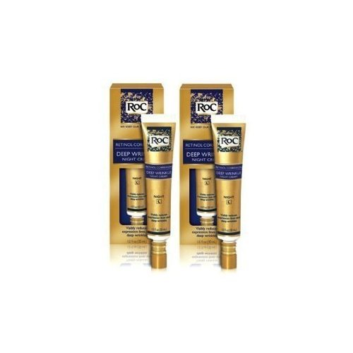 RoC Retinol Correxion Deep Wrinkle NIGHT Cream 1 oz (Two Pack) Total 2 oz