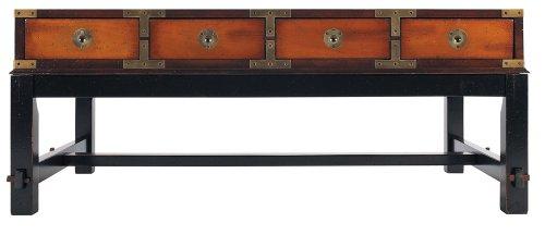 Authentique modèles MF097 Bombay Salon Table, Miel