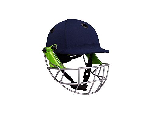 KOOKABURRA Cricket Helmet Pro 600 Navy Cloth Junior (M)