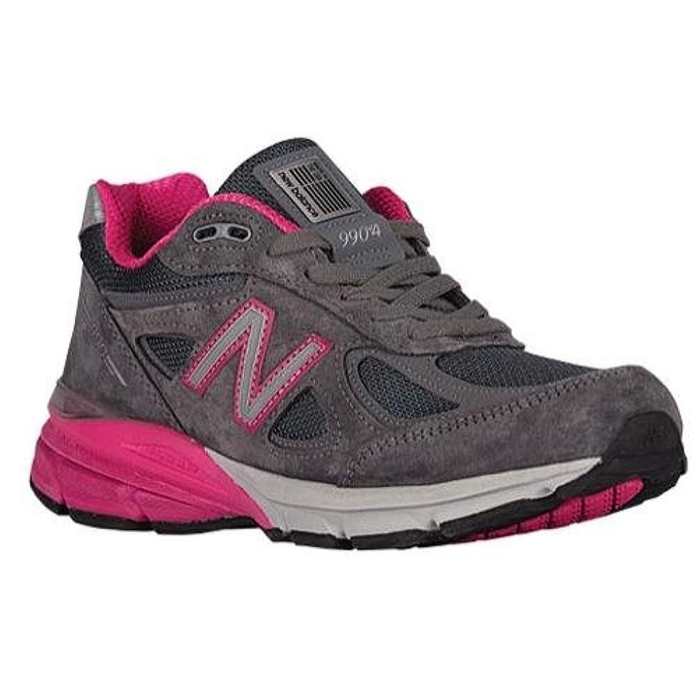ワット楽しい腰[ニューバランス]NEW BALANCE Women's 990 V4 Grey Pink US9.5(26.5cm) [並行輸入品]