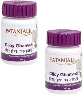 Patanjali Giloy Ghan Vati 80 Tablets x 2 Packs