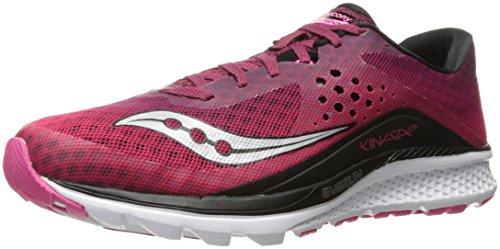 Saucony Kinvara 8, Zapatillas de Running Mujer, Rosa Blanco, 41 EU