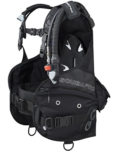 SCUBAPRO GO BCD Great for Travel BC (Large, New 2016 w/Standard Power Inflator)