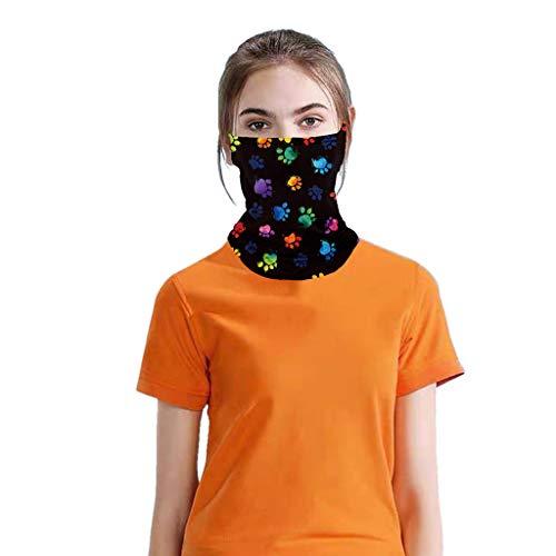 SHUANGA Mund & Gesichtstuch,als Mundschutz verwendbar, Mikrofaser, Multifunktionstuch, Schlauchtuch, Loop, Halstuch,für Sport/Freizeit & Outdooraktivitäten, atmungsaktiv,